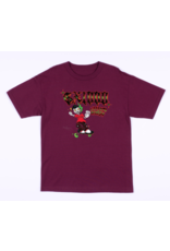 GX1000 GX1000 Listen to my Creep T-shirt - Burgundy