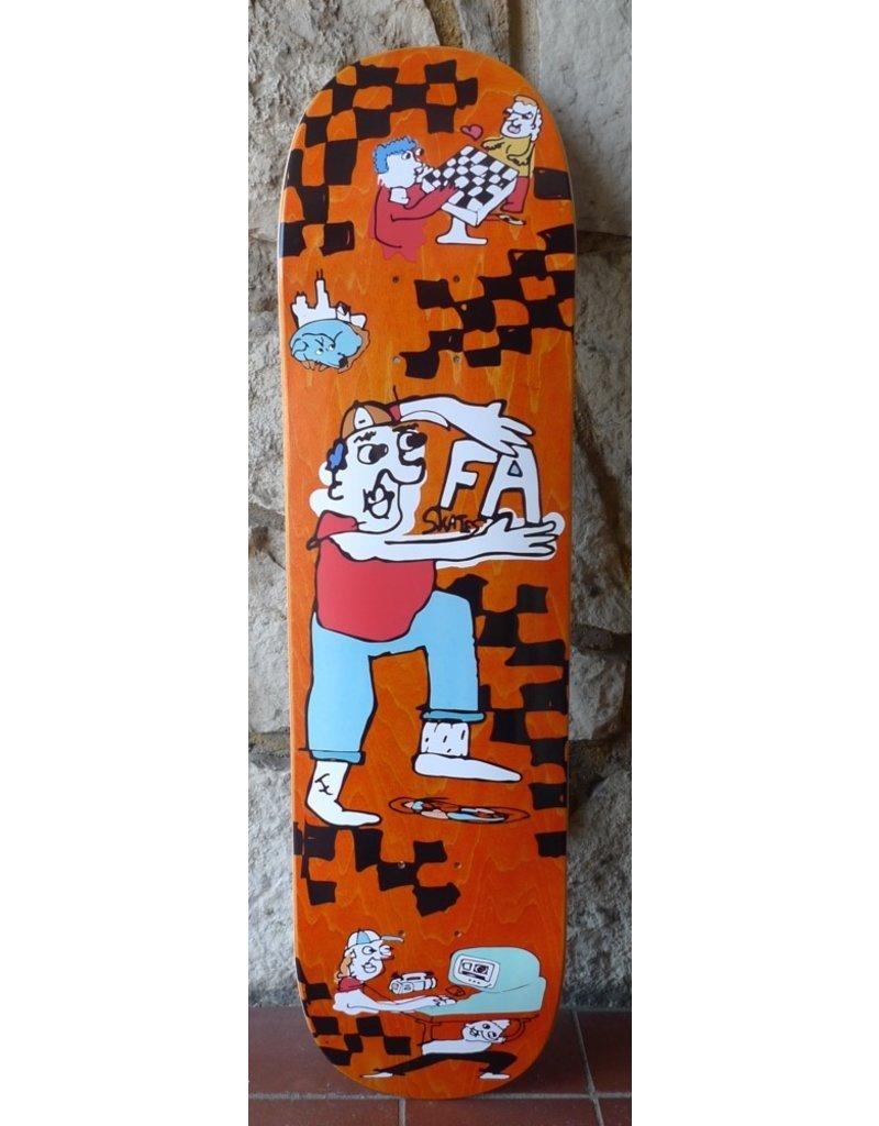"FA skates FA Skates x Cowply ""Field Day"" Deck (size 7.875, 8.0 or 8.125)"