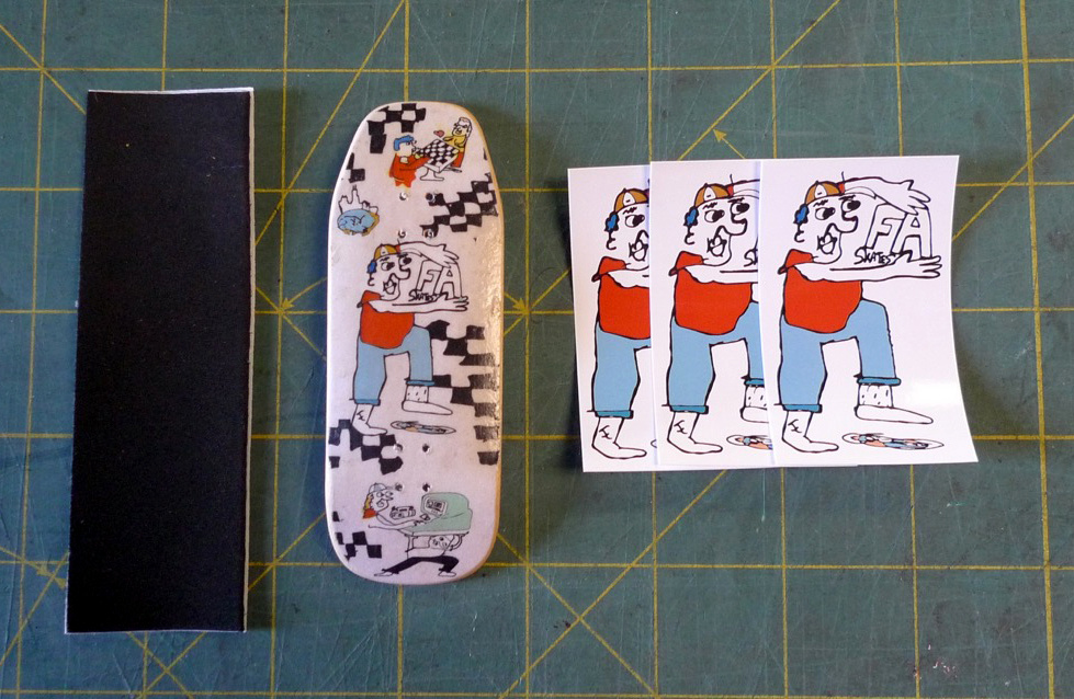 "Cowply Cowply x FA skates ""Field Day"" FB Deck - C3 Solis 34.5mm"