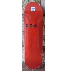Dead On Arrival D.O.A. Skypager Red Deck - 8.5 (Flat as Fuck)