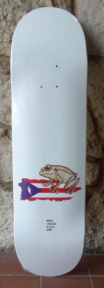 Dead On Arrival D.O.A. Koki Frog Deck - 8.5