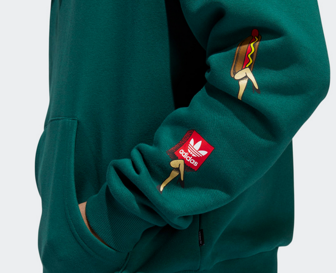 Adidas Adidas Food Party Hoodie - Green