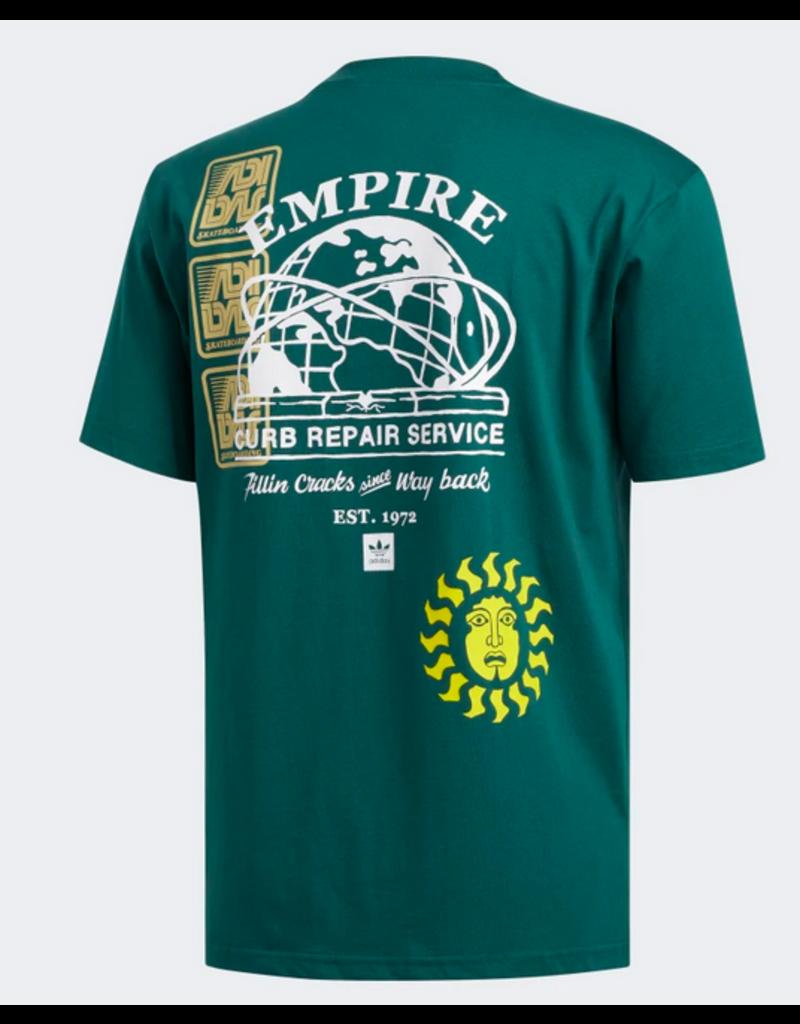 Adidas Adidas Test Print T-shirt - Green  (size Large)