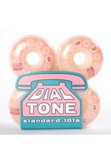Dial Tone Wheel Co. Dial Tone Rotary Classic Standard 53mm 101 Peach Wheels (set of 4)