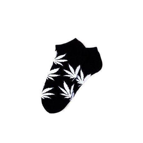 Huf Worldwide Huf Plantlife Ankle Sock - Black/White