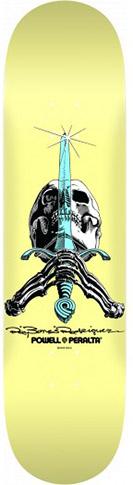 Powell Powell Skull & Sword Pastel PP Deck - 8.25