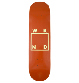 WKND brand WKND Logo Brown Deck - 7.75