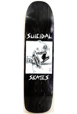 Dogtown x Suicidal Pool Skater Black Stain Deck - 8.5 x 32.07