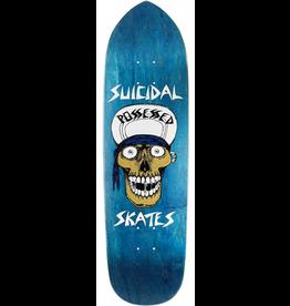 Dogtown x Suicidal Skull Blue Punk Point Deck - 8.75