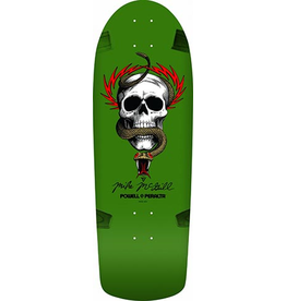 Powell Powell McGill Skull and Snake Green Re-Issue Deck 10 x 30.12