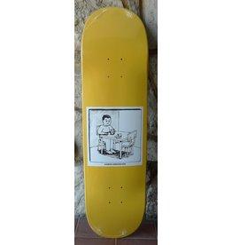 Polar Polar Aaron Herrington Spilled Milk Yellow Deck - 8.5 x 32.125