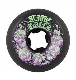 OJ wheels Slime Balls 58mm Skullbasher Black 97a Wheels (set of 4)