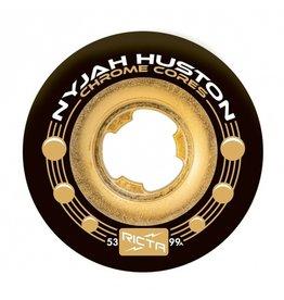 Ricta Ricta Nyjah Houston Chrome Core Black 53mm 99a Wheels (set of 4)