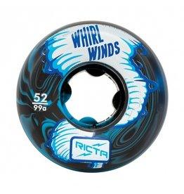 Ricta Ricta Whirlwinds Blue/Black Swirl 52mm 99a Wheels (set of 4)