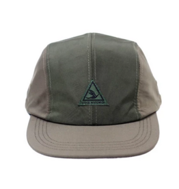 Snack Snack Super Sport 4 Panel Hat - Green/Tan