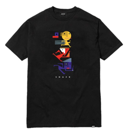 Snack Snack Run It Back T-shirt - Black