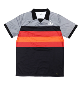 Snack Snack Field Soccer Jersey - Grey/Red/Orange/Black