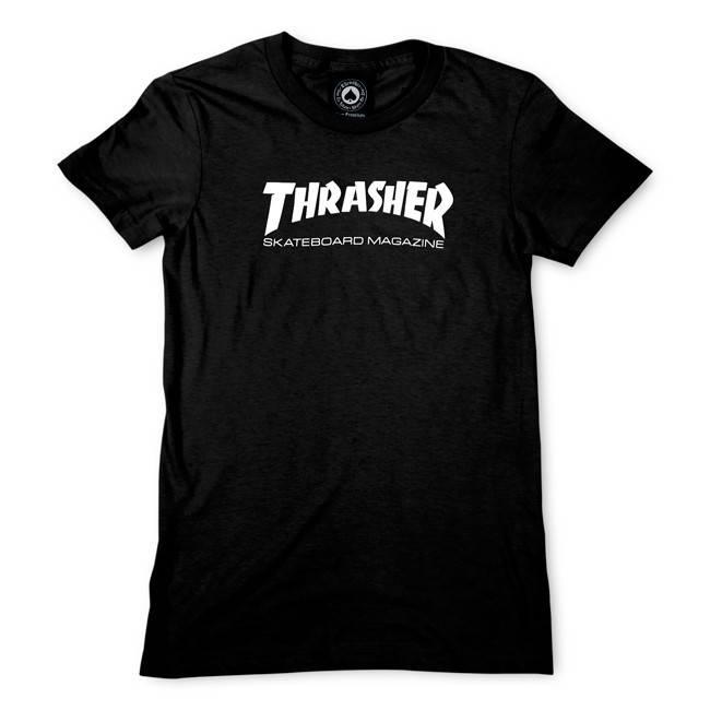 Thrasher Mag Thrasher Womens Skate Mag T-shirt - Black