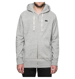 Huf Worldwide Huf Cadet Zip Up Hoodie - Grey Heather