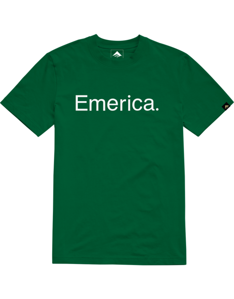 Emerica Emerica Pure T-Shirt - Green (size Large)
