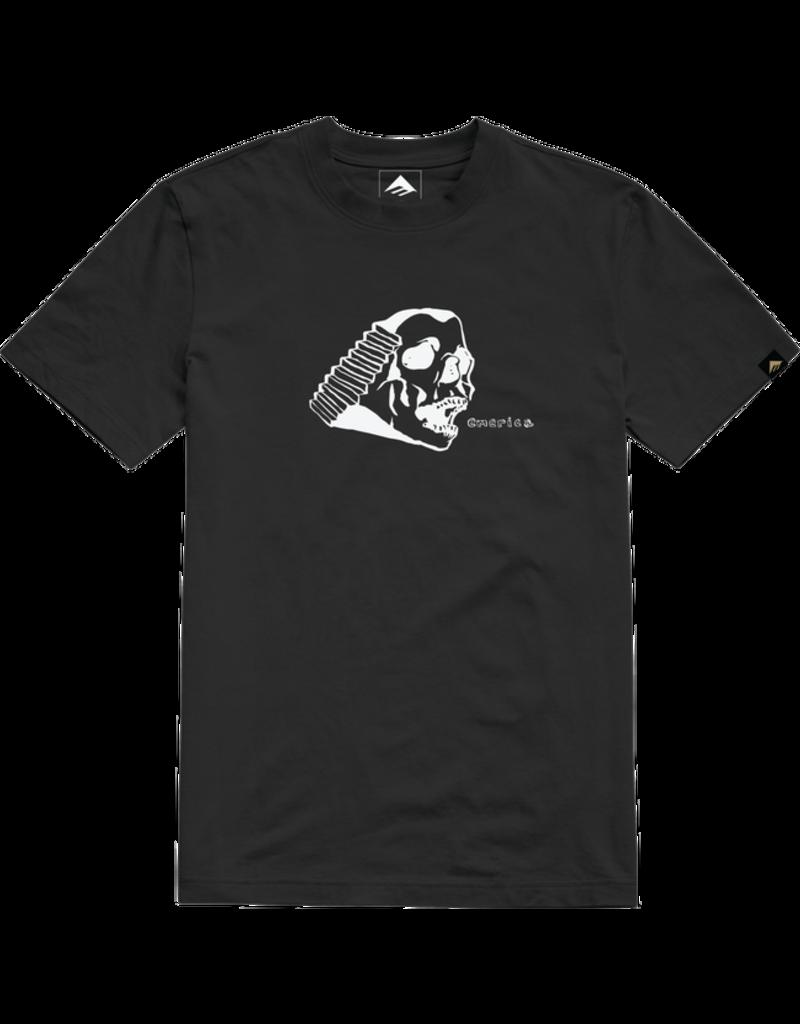 Emerica Spanky Skull T-Shirt - Black (size Medium or Large)