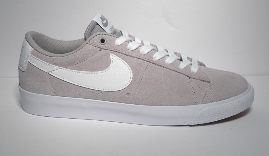 newest 7b158 104fd Nike sb Blazer Low GT - Atmosphere Grey/White