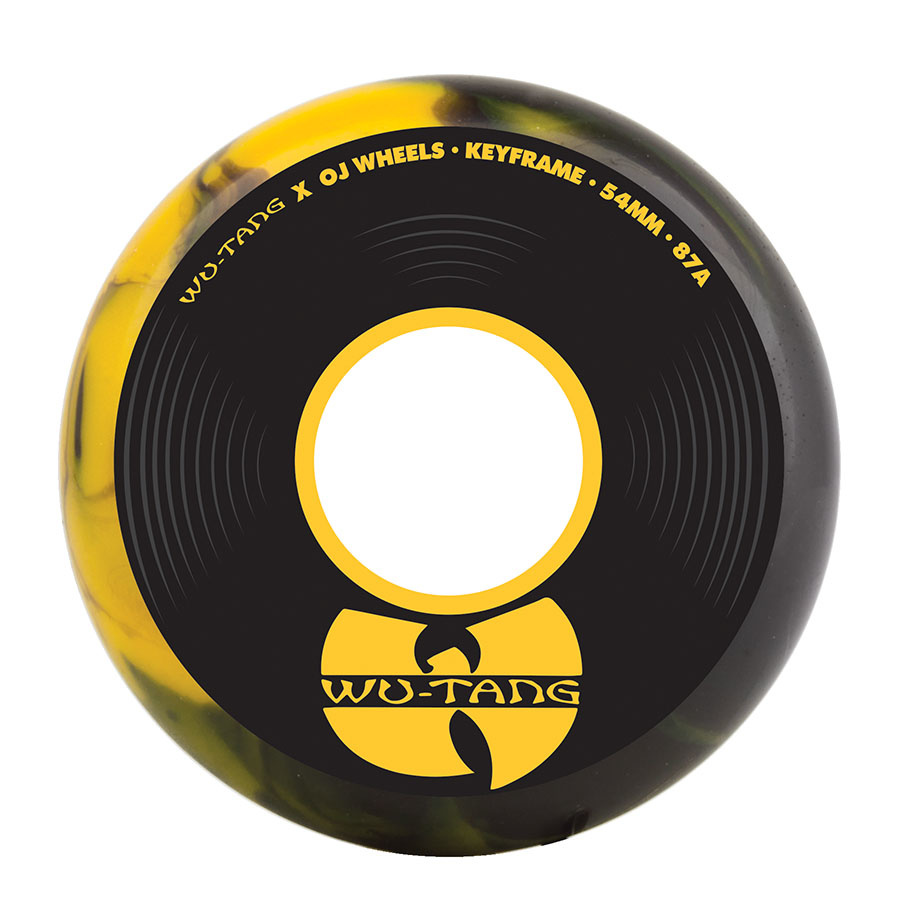 OJ wheels OJ 54mm Wu-Tang Keyframe 87a Wheels (set of 4)