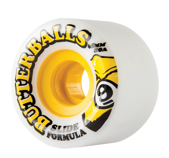 Sector 9 Sector 9 Butterball Slide 65mm 80a White Wheels (set of 4)