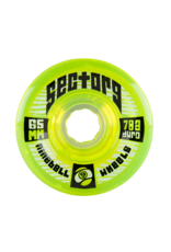 Sector 9 Sector 9 9-Balls 65mm 78a Lime Wheels (set of 4)