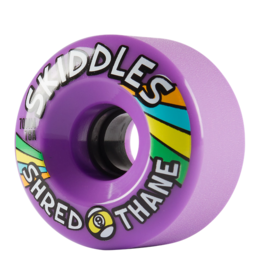 Sector 9 Sector 9 Skiddles 70mm 78a Purple Wheels (set of 4)