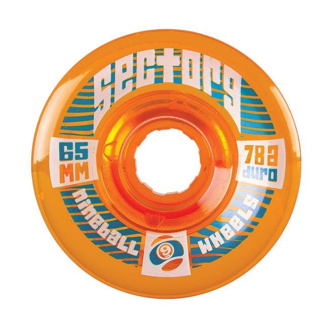 Sector 9 Sector 9 Top Shelf 9-Balls 65mm 78a Wheels (set of 4)