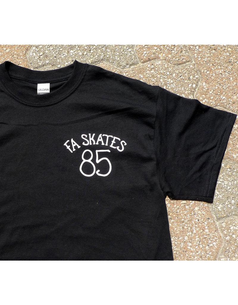 FA skates FA skates 85 T-shirt - Black