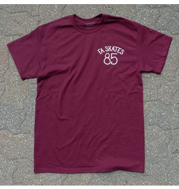 FA skates FA skates 85 T-shirt - Sport Dark Maroon