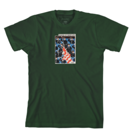 Politic Politic Pawns of Babylon T-shirt - Green