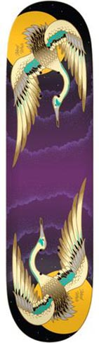 Real Real Ishod Lunar Slick Deck - (Twin Tail) 8.37 x 32