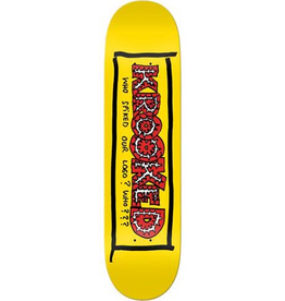 Krooked Krooked Team Spiked Deck - 8.38 x 32.25