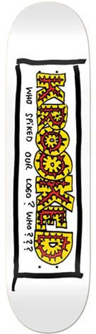 Krooked Krooked Team Spiked Deck - 8.25 x 32