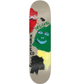 Krooked Krooked Drehobl Paint Smudge Deck - 8.38 x 32.25