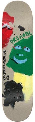 Krooked Krooked Drehobl Paint Smudge Deck - 8.38 x 32.25