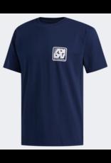 Adidas Adidas Yanc T-shirt - Navy/White (size Large or X-Large)