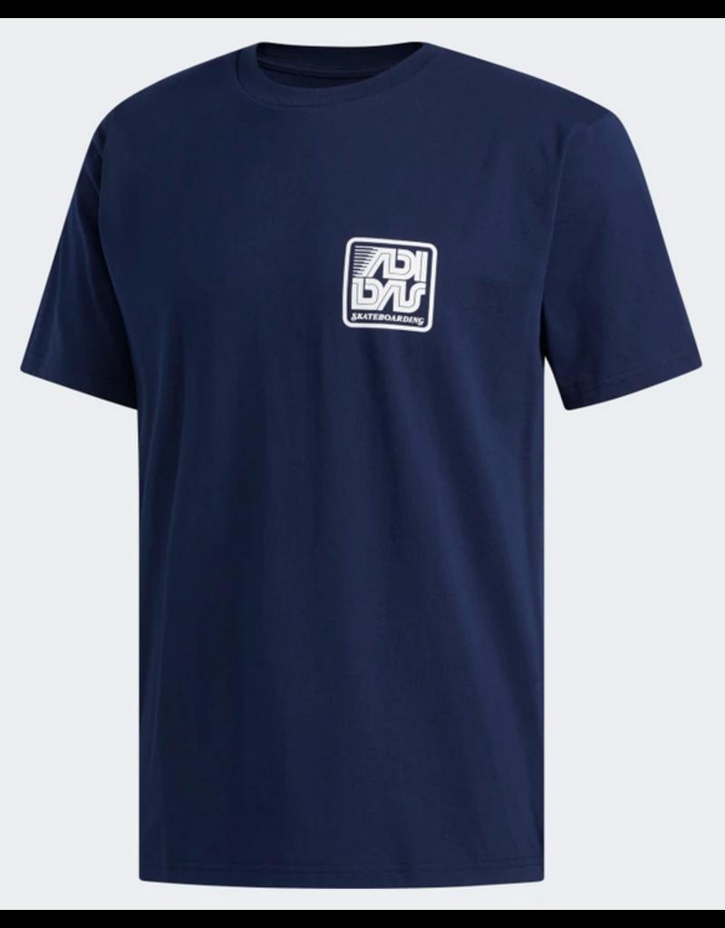 Adidas Adidas Yanc T-shirt - Navy/White (size  X-Large)
