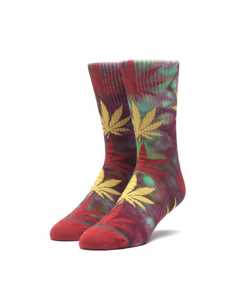 Huf Worldwide Huf Tie-Dye Plantlife Sock - Rose Wood Red