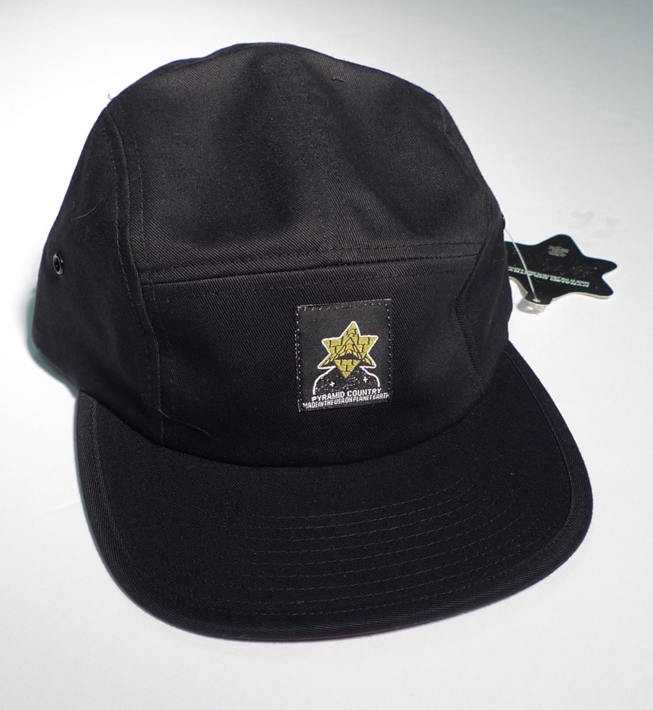 Pyramid Country Pyramid Country Exeter 5 Panel Hat - Black