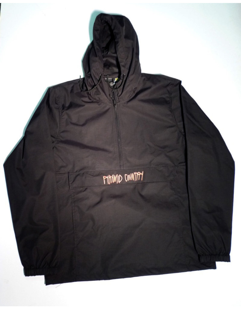 Pyramid Country Pyramid Country Real Love Anorak Jacket - Black