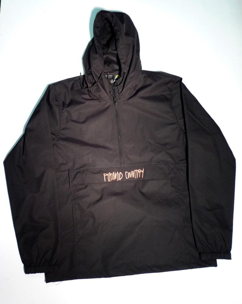 Pyramid Country Pyramid Country Real Love Anorak Jacket - Black