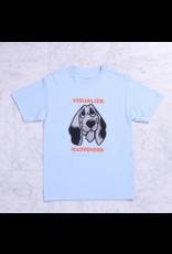 Quasi Quasi Happy T-shirt - Powder Blue