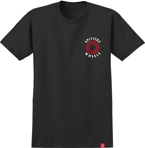 Spitfire Spitfire OG Classic T-shirt - Black/Red/White