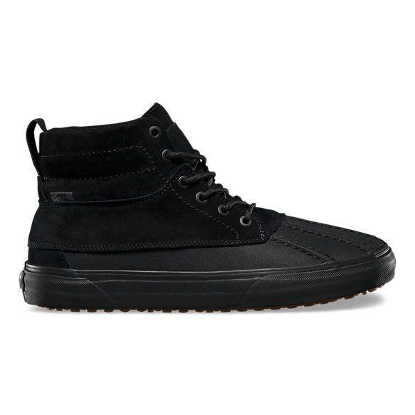 1a2219c99b Vans Sk8-Hi Del Pato Mte - Black Black - FA SKATES