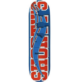 Shorty's Shorty's Skate Block Blue/Red Deck - 8.25