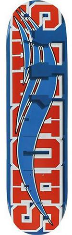 Shorty's Shorty's Skate Block Blue/Red Deck - 8.25